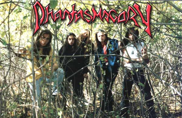 The Official Webrealm Of Progressive Death Metal band PHANTASMAGORY